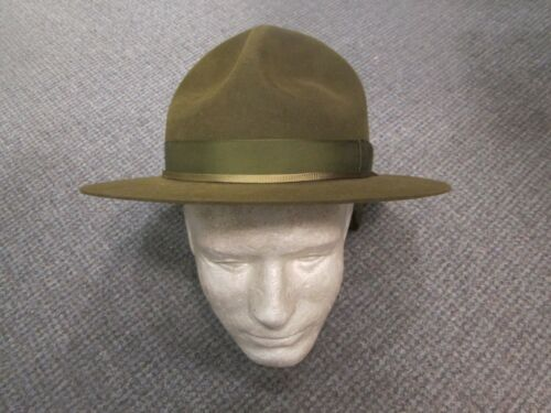 VINTAGE STETSON HAT IN ORIGINAL BOY SCOUTS OF USA BOX SIZE 7 1/8