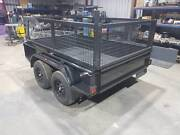 Heavy duty tandem 8x5 with cage Holden Hill Tea Tree Gully Area Preview