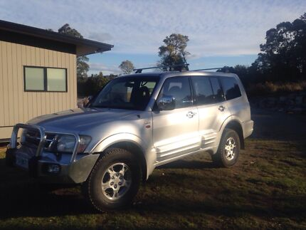 Mitsubishi Pajero 2002 Beauty Point West Tamar Preview