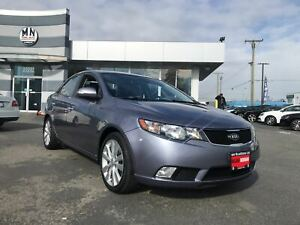 2010 Kia Forte SX LEATHER SUNROOF ONLY 100KM