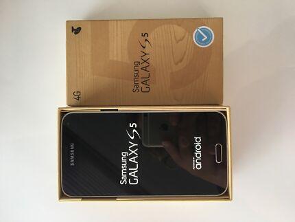 SAMSUNG GALAXY S5 CHARCOAL BLACK SM-G900I