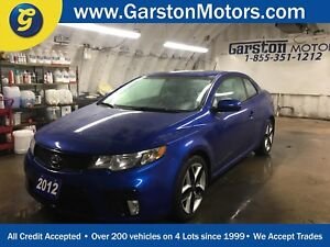 2012 Kia Forte Koup SX*POWER SUNROOF*LEATHER*HEATED FRONT SEATS*