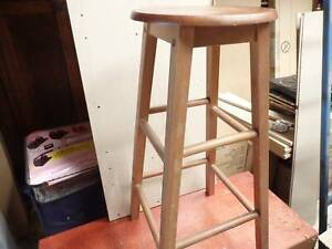 timber stool in excellent condition