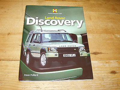 Sale Book - Landrover Discovery-Haynes Enthusiasts Guide. Was £19.99