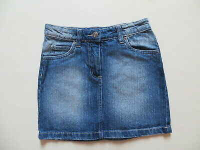5-pocket Mini Rock (Mini Rock Jeans Gr. XXS, W 24 vintage blue 5-pocket Denim, Basic Teil, wie NEU !)