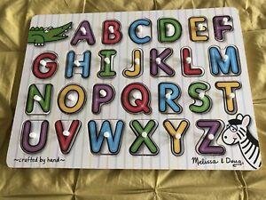 Alphabet puzzle Melissa and Doug