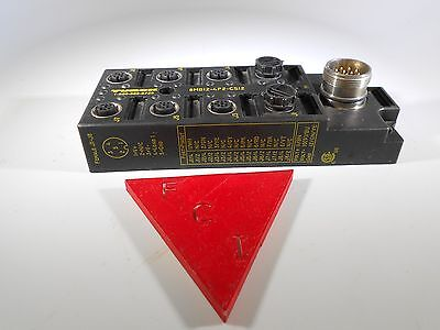 Turck 8mb12-4p2-cs12 8 Port Remote Io Terminal Junction Block. New Other