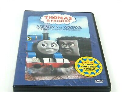 THOMAS AND FRIENDS STEAMIES VS/ DIESELS (GENTLY PREOWNED)