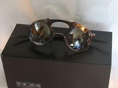 OAKLEY Madman. Pewter Frame Black Iridium Polarized Lenses OO6019-02.   LAST ONE