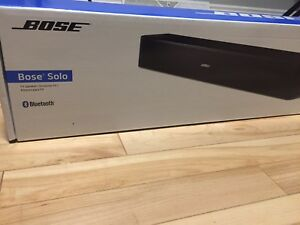 Bose Solo Soundbar TV Bluetooth Speaker