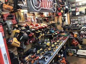 Assorted Dewalt tools