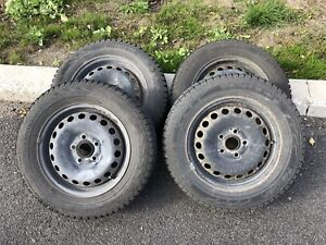 Nokian Norman 5 195/65/15 with Rims 5x112