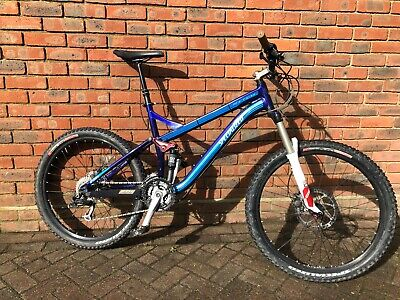 """Specialized Pitch Comp 2007 26"""" full suspension mountain bike size L"""