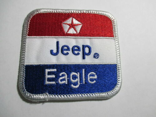 Jeep Eagle Patch Vintage, Original, NOS   2 3/4 x 2 1/2 inches
