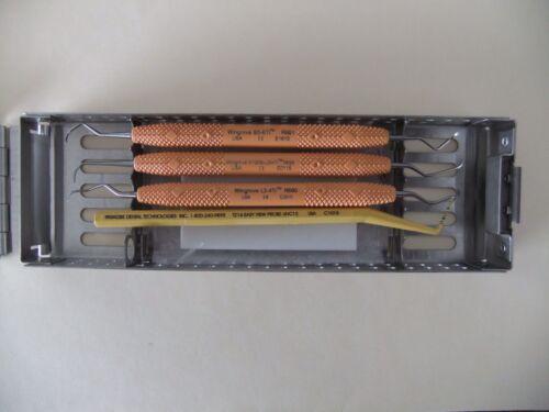 Titanium Implant Instruments with FlipTop Cassette-5 rack