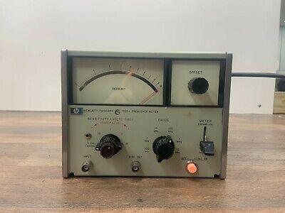 Hp Hewlett Packard Model 5210a Frequency Meter