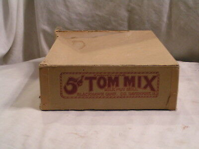 TOM MIX CANDY BAR BOX FROM BLACKHAWK CANDY CO - Candy Bar Boxes