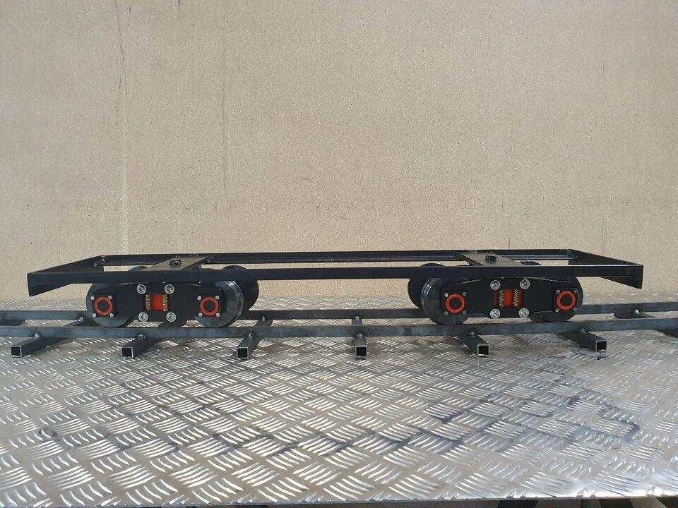 5 Zoll Untergestell mit Drehgestellen für Gartenbahn in Bautzen