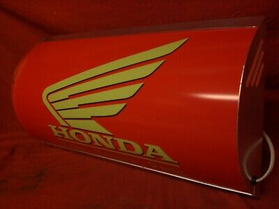 Honda,lightup,sign,illuminated,classic,display,mancave,garage,fireblade,bike,3
