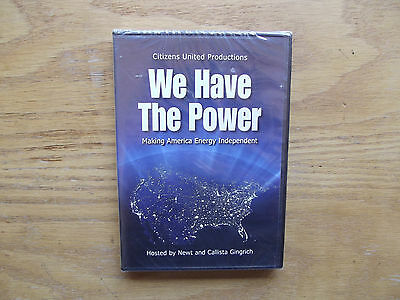 We Have The Power   Making America Energy Independent  Dvd  2008  New