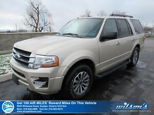 2017 Ford Expedition XLT 4WD | SUNROOF | LEATHER | HEATED + COOL