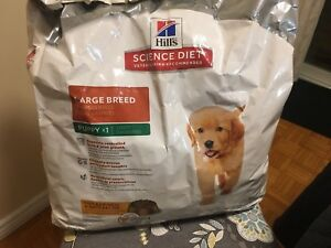 FREE Puppy Food - Hill's Science Diet Large Breed Puppy