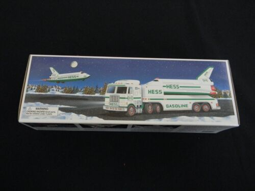 1999 Hess Truck and Space Shuttle with Satellite
