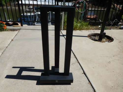 "Sound Anchor 3 Post Stand - Single - 28"" High -  Audiophile w/spikes Used Nice"