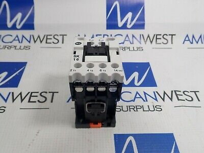 Advanced Controls Contactor Sk16 28a 15 Hp 480 Volt With 120v Coil