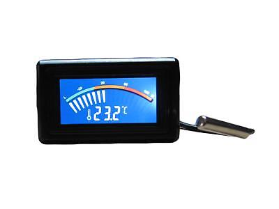 Digital Temperature Meter With Pointer Display For Car In Celcius Or Fahrenheit