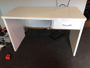 Semi Gloss White Desk Maryland Newcastle Area Preview
