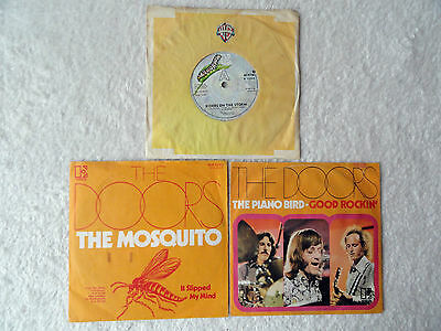 "THE DOORS - Singles 3x Paket 7"" Sammlung Beat Star-Club Hendrix Beatles Love Mod"