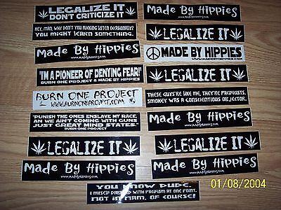 Наклейки и рисунки Legalize it Sticker