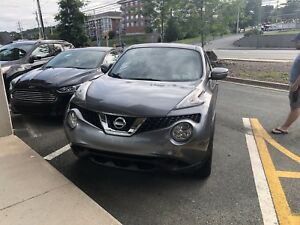2016 Nissan Juke with low km and extended warranty