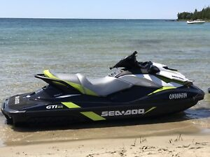 Sea Doo GTI SE 2017 with 5 years extended warranty!