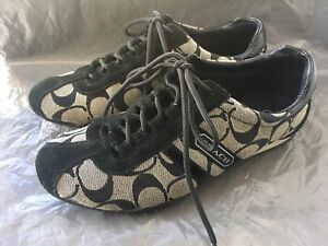 Authentic Coach size 5.5 sneaker casual monogram shoes