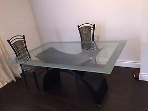 Dining Table with 4 Chairs - $240.00