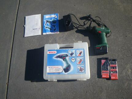 BOSCH PSR120 CORDLESS DRILL WITH CASE DRILLS BATTERY & CHARGER Maribyrnong Maribyrnong Area Preview