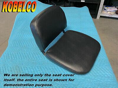 Kobelco Sk007 New Seat Cover Mini Excavator Sk 007 Black 236b