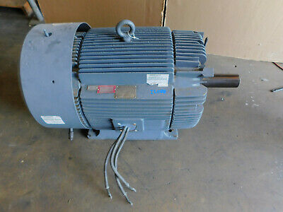 Ge Electric Motor 150 Hp 890 Rpm 460 Volts 447t Frame 3 Phase Severe Duty