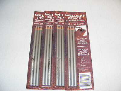 Silver Mine Welders Welding Pencils Lot Shop Supply Qty1 Dozen Pencils 12 New