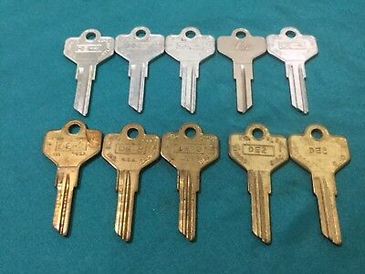Dexter By Curtis Ilco De4 De2 Key Blanks Set Of 10 - Locksmith