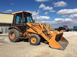 Case 580 Super K Skip Loader 3PTH