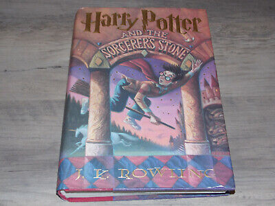 1998 - Harry Potter and the Sorcerer's Stone, 1st American Edition, Hardcover