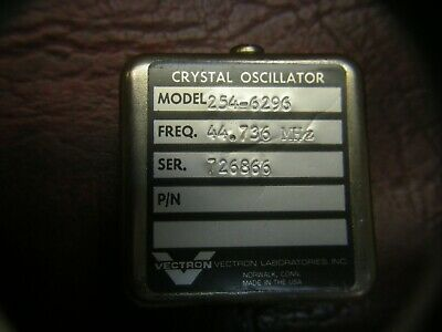 Vectron Laboratories Crystal Oscillator Model 254-6296 44.736 Mhz Nos