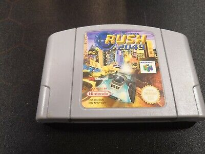 San Francisco Rush 2049 - N64 PAL - Sehr selten