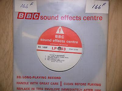 "BBC Sound Effects 7"" Record - Caving & Potholing, Mendip Hills, Boulders"