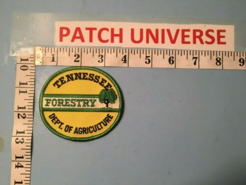 TENNESSEE DEPT OF AGRICULTURE FORESTRY  SHOULDER  PATCH  N088