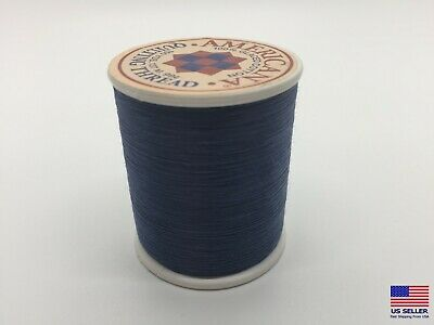 Sewing Thread 100 Cotton Spool Navy Blue Yards All Purpose Sew Usa Mask Making