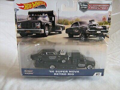 2019 Hot Wheels Team Transport D Case '66 Super Nova Retro Rig